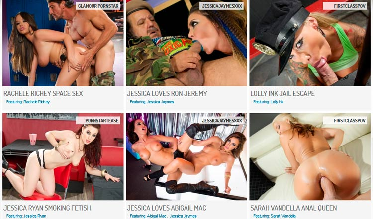 Top pay adult site with the hottest pornstars