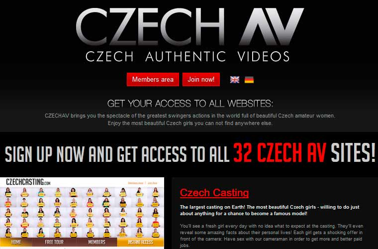 Top premium porn site for beautiful Czech girls.