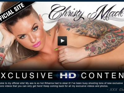 Greatest pay porn website for the lovers of hot pornstar Christy Mack.
