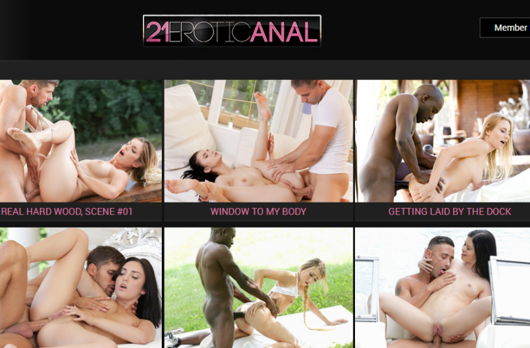 Nice adult paysite with anal xxx content.