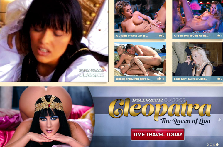 Best porn paysite with private collection of adult movies