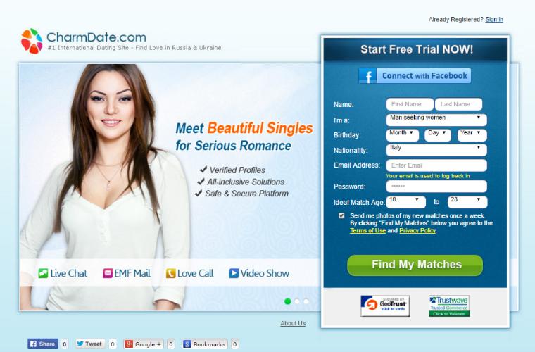 Popular premium porn site for online dating with Ukrainians ladies.