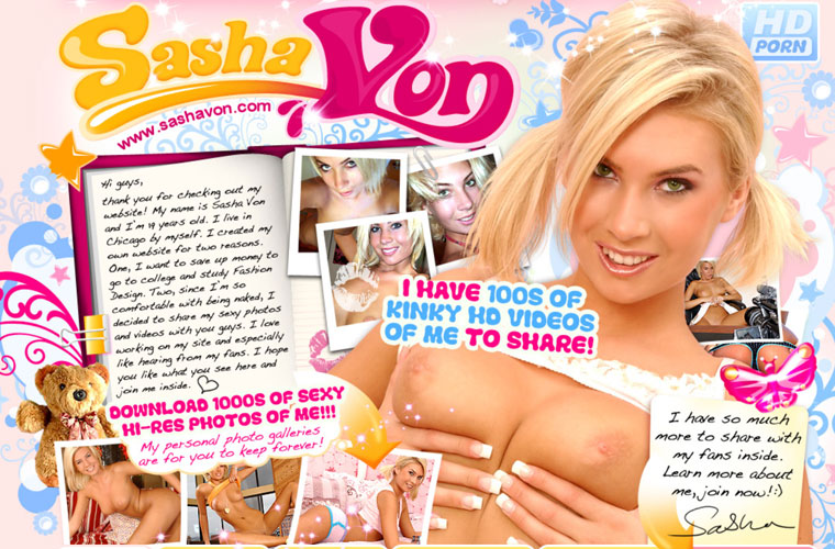 Nice hd xxx site with the hot and beautiful Sasha Von
