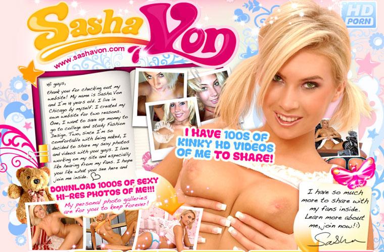 Nice hd xxx site with the hot and beautiful Sasha Von