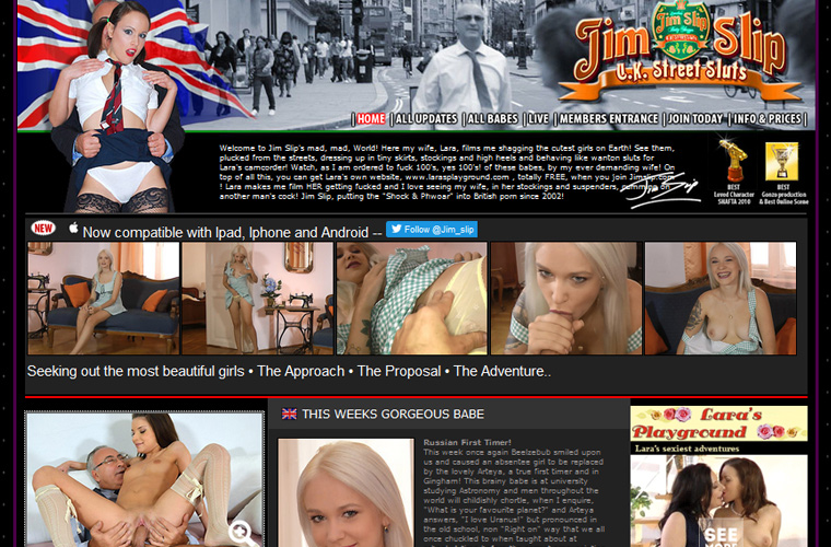 Popular hd porn site with the hottest amateur European girls