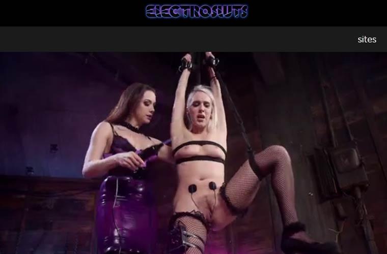 Top premium xxx site featuring bondage lesbian content