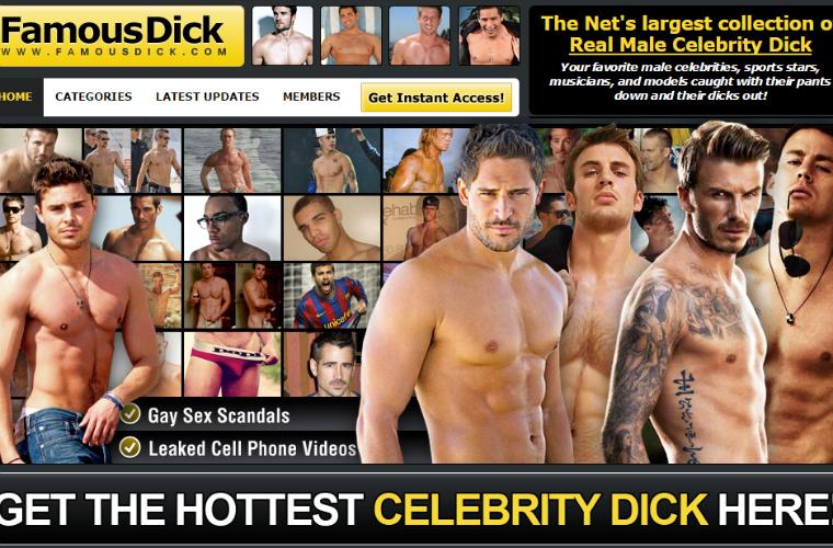 Good adult website for popular male models.