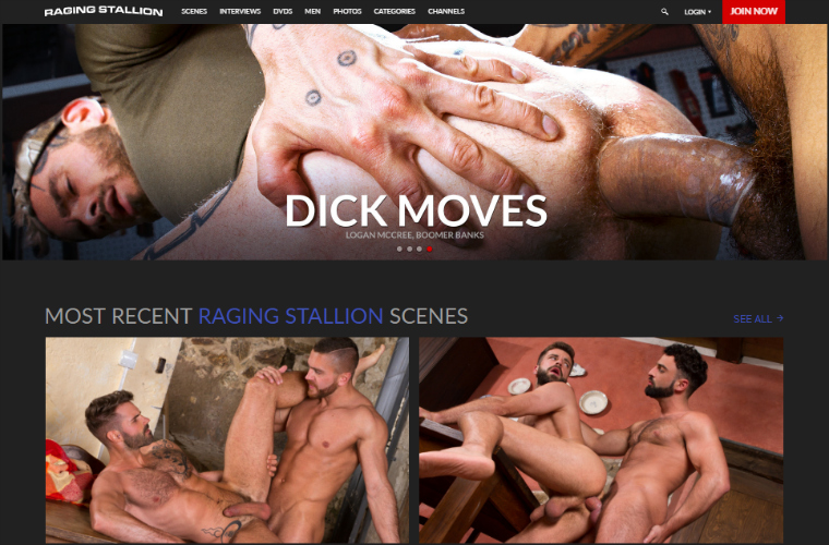Good paid gay site with exclusive porn content.