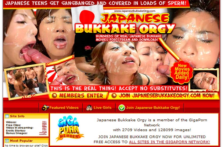 Adult bukkake japanese