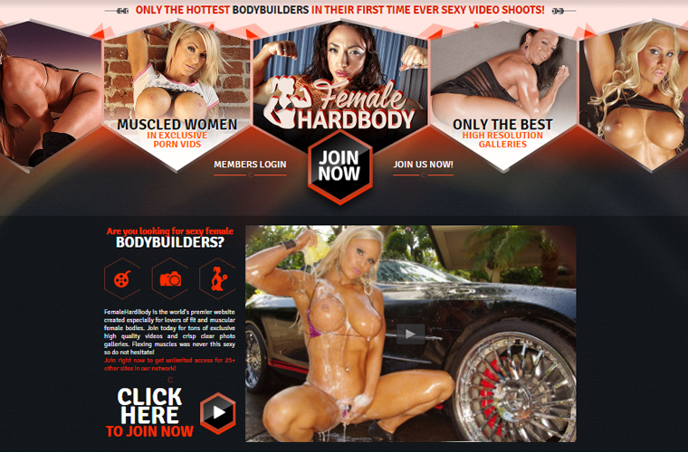 Best porn site for sexy muscle girls.