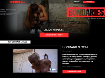 Best porn site for bondage videos.