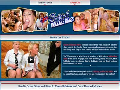 Top premium sex website to find hot bukkake porn action from Europe