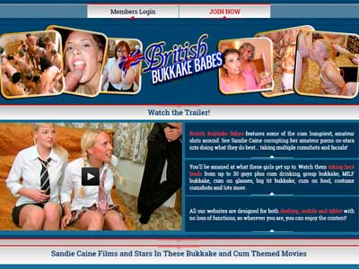 Popular paid xxx site among the fans of  Euro facial porn films