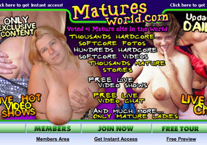 Great pay adult site in which you can watch mature porn videos.