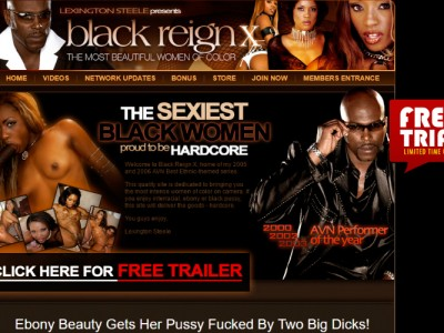 Popular porn pay site with interracial content.