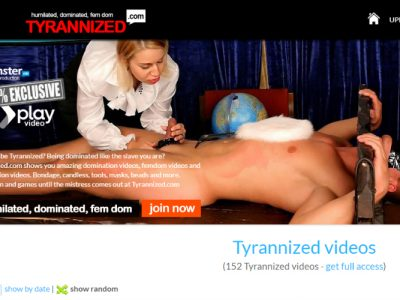 Popular porn site with fetish content.