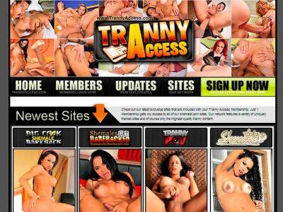 Nice hd xxx website that brings a full network of tranny porn stuff